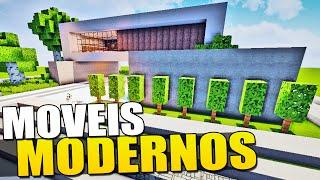 getlinkyoutube.com-Minecraft - Como Fazer Moveis Modernos