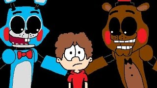 getlinkyoutube.com-Five Nights At Freddy's 2 Survive the night animation ( CRINGE )