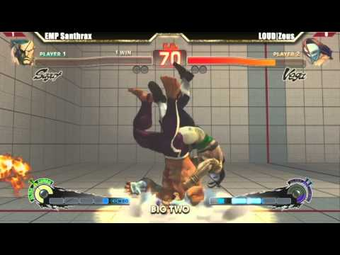 SSF4 AE 2012 Big Two #29: Zeus (Vega) and his brutally strong Gameplay!