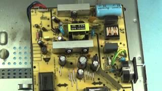 getlinkyoutube.com-Ремонт монитора SyncMfster 720n выключается подсветка