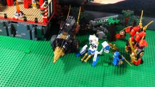 LEGO NINJAGO THE MOVIE PART 5 RISE OF THE OVERLORD