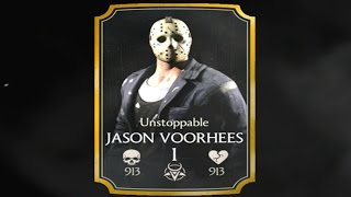 getlinkyoutube.com-Mortal Kombat X (iOS) - Unstoppable Jason Challenge - Battle 5: Jason Boss Fight (Normal Difficulty)