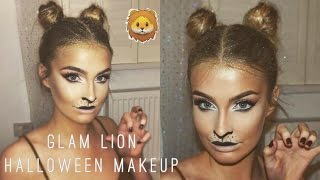 Easy Lion Halloween Makeup & Hair Tutorial 2016  | Aoife Conway ❤
