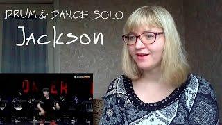 getlinkyoutube.com-TFBOYS (Jackson) - DRUM & DANCE SOLO |Live Reaction|