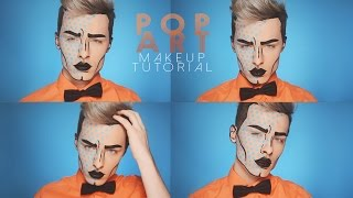 getlinkyoutube.com-MALE POP ART - Makeup Tutorial
