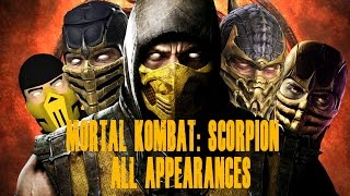 getlinkyoutube.com-Mortal Kombat Scorpion Appearances MK1 - MKX