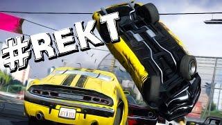 getlinkyoutube.com-RUN AWAY CRASHY SMASHY | Next Car Game: Wreckfest