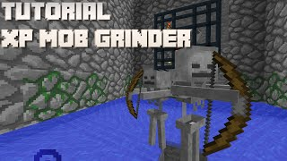 getlinkyoutube.com-Minecraft: Mob Spawner XP Grinder Tutorial (1.7/8/9/10, Console, PE)
