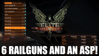 getlinkyoutube.com-Elite: Dangerous - 6 Railguns And An Asp!