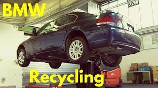 getlinkyoutube.com-BMW Cars Recycling