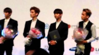 getlinkyoutube.com-[FANCAM] VIXX Cerimony as KBEE2014 Ambassador