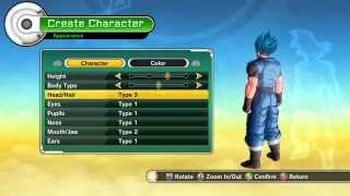 getlinkyoutube.com-Dragon Ball Xenoverse lore friendly hair pack Mod [PC]
