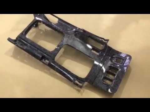 Аквапринт деталей салона автомобиля Toyota Land Cruiser Prado120. Иммерсионная печать.