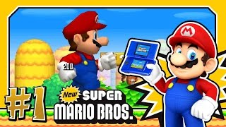 getlinkyoutube.com-New Super Mario Bros DS. (1080p HD) Part 1 - World 1 100%