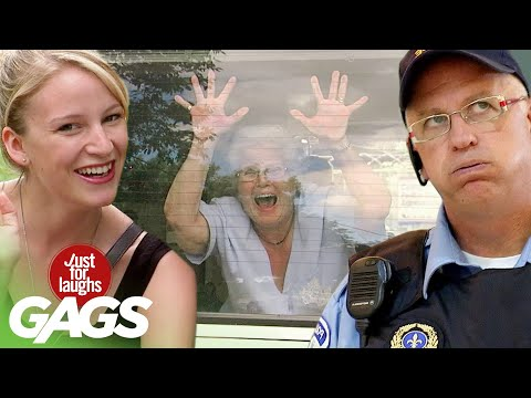 Best of Old People Pranks Vol. 6 | Just For Laughs Compilation