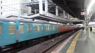 getlinkyoutube.com-タモリ倶楽部臨 103系スカブル+オレンジ 大阪発車!