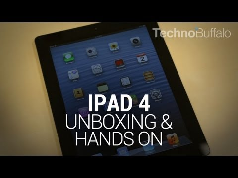 iPad 4 Unboxing & Hands On!