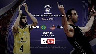 getlinkyoutube.com-Live: Brazil vs USA - FIVB Volleyball World League Final 2015