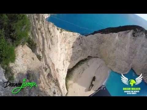 Zakynthos -  the first jump in Navagio Beach , Zakynthos