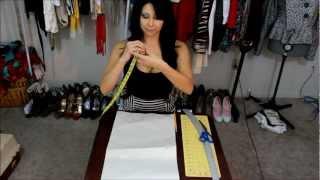 DIY: High Waist Skirt