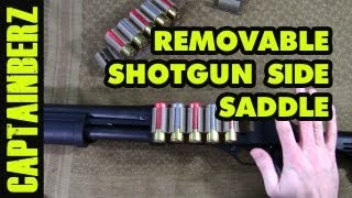 getlinkyoutube.com-Removable Velcro Shotgun Shell Side Saddle (w/ HSGI Shotgun Shell Trays)