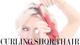 getlinkyoutube.com-How to Style a Pixie Hairstyle:  The C-Curl