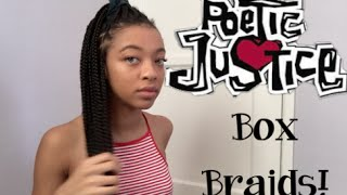 getlinkyoutube.com-New Hairstyle - Box Braids