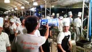 getlinkyoutube.com-Dancing chefs At Boracay Regency