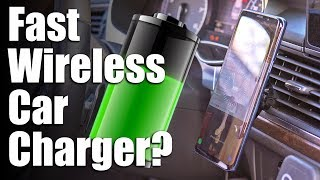 Wireless Car Charger Review - Does It Work? Is It Worth Buying?