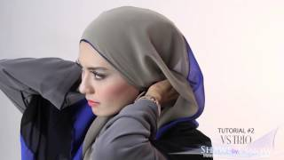 getlinkyoutube.com-Shawlbyvsnow : Hijab Tutorial with VS Trio ( 2 style )