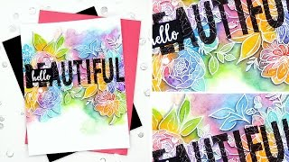 getlinkyoutube.com-Hello Beautiful Rainbow Florals with Kelly