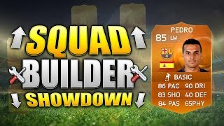 FIFA 15 SQUAD BUILDER SHOWDOWN!!! MOTM PEDRO!!! Orange Man Of The Match Pedro Squad Building Duel
