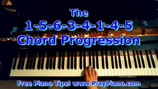 The 1 5 6 3 4 1 4 5 Chord Progression