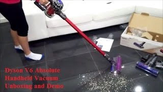 getlinkyoutube.com-Dyson V6 Absolute - Unboxing and Demo