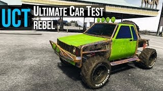getlinkyoutube.com-GTA 5 - Ultimate Car Test: Rebel ( Toyota Hilux )