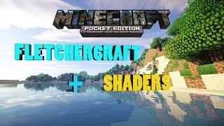 getlinkyoutube.com-Minecraft Pe 0.12.1 FLETCHERCRAFT+SHADERS