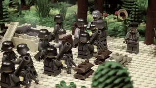 getlinkyoutube.com-LEGO WW2 STOPMOTION Battle for Brest fortress