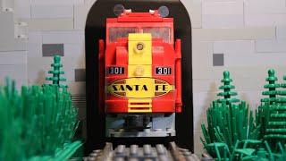 getlinkyoutube.com-Lego Train Robbery