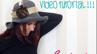 getlinkyoutube.com-TUTORIAL SOMBRERO DE GANCHILLO O CROCHET