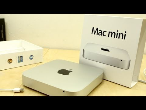 New Mac Mini i5 Unboxing! (July 2011)