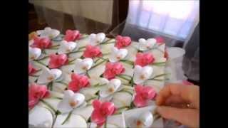 getlinkyoutube.com-Scrap,bomboniere , centri tavola ecc... review lavoretti per il matrimonio