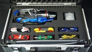 getlinkyoutube.com-仮面ライダー ドライブ 自作ドライバーケース DXマッハドライバー&  シグナルバイク デッドヒート Kamen Rider Drive DX Drive DX Mach Driver Case