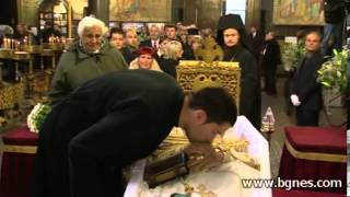 Заупокойна литургия се отслужва в памет на патриарх Максим