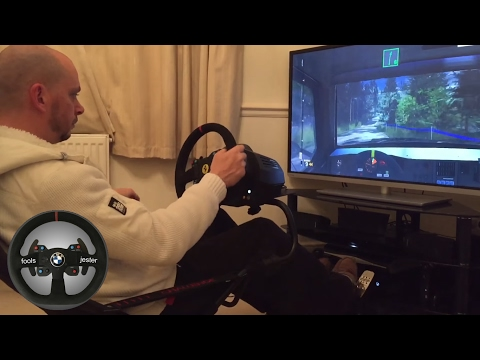Sebastian ... Rally Evo Group B Lancia Delta S4 at Finland - xBox One with TX Wheel