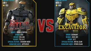getlinkyoutube.com-Real Steel WRB Atom VS Excavator NEW graphics blows