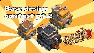 getlinkyoutube.com-Clash of clans -Base design contest part 2 (help vote)