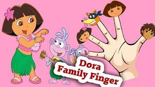 getlinkyoutube.com-Dora Finger FamilyRhymes for kids