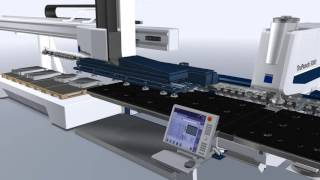 getlinkyoutube.com-TruPunch3000 Sheet Master With  integrated tool  changuer