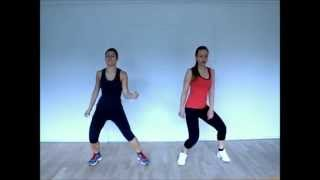 getlinkyoutube.com-Rubee Zumba | Shakira- La La La warm-up work out