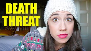 getlinkyoutube.com-I GOT A DEATH THREAT!